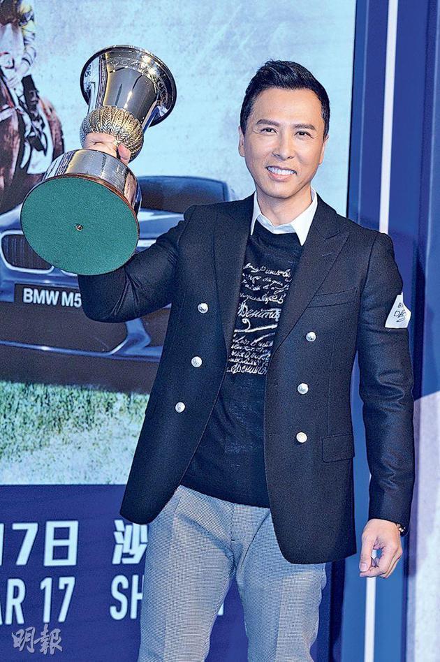 甄子丹准备演出陈木胜导演的新电影。