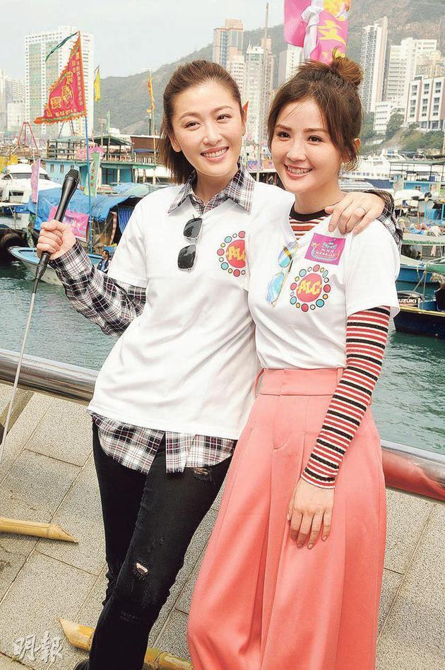 蔡卓妍(右)提議周勵淇(左)跟她一起去雪卵。