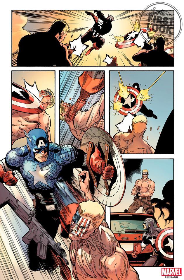 漫威新《美国队长》漫画曝光 美队名声被蛇队腐化
