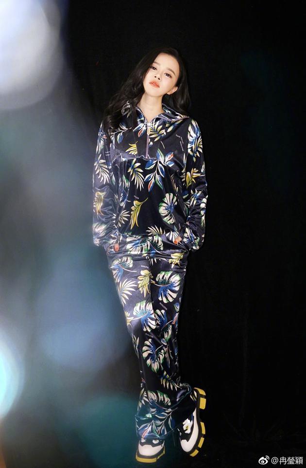 冉莹颖于2月14日情人节宣告怀三胎音讯。