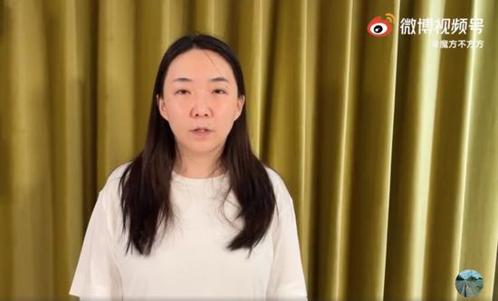 马薇薇微博小号发文道歉 将离开娱乐圈一段时间