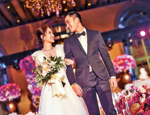阿娇本周四与赖弘国完婚。