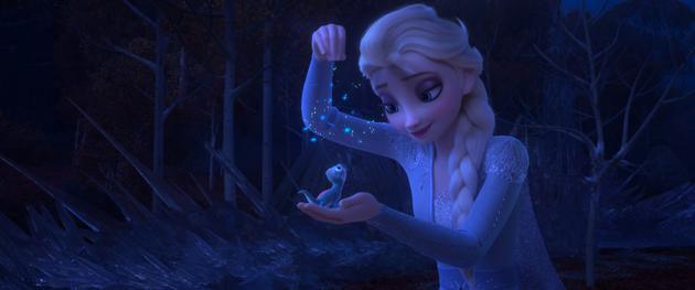《冰雪奇缘2》破北美感恩档纪录 吸金1.23亿美元