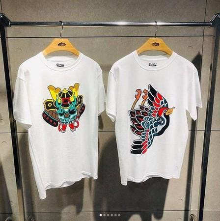 陈冠希潮牌贩售的T恤,被台湾设计师指控盗用自己的刺青创作。