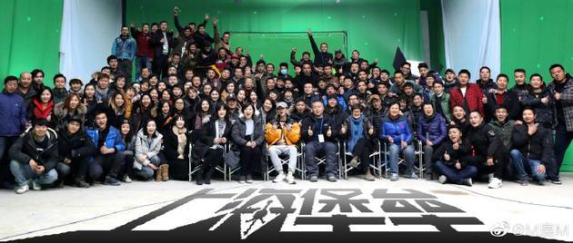 《上海堡垒》将上映 鹿晗发文期待看到大家的评价