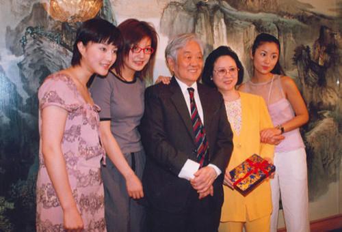 琼瑶夫妇与赵薇、林心如、范冰冰