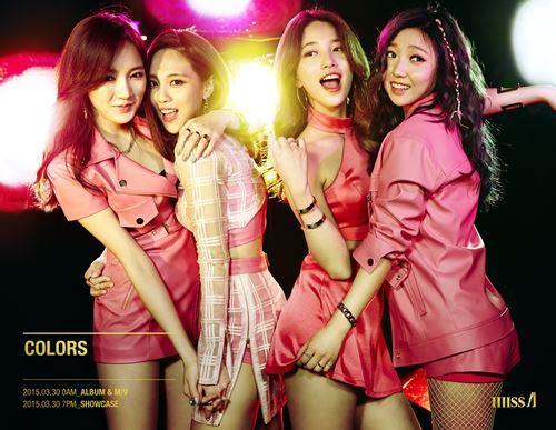missA正式解散难敌七年魔咒 两成员已离开JYP