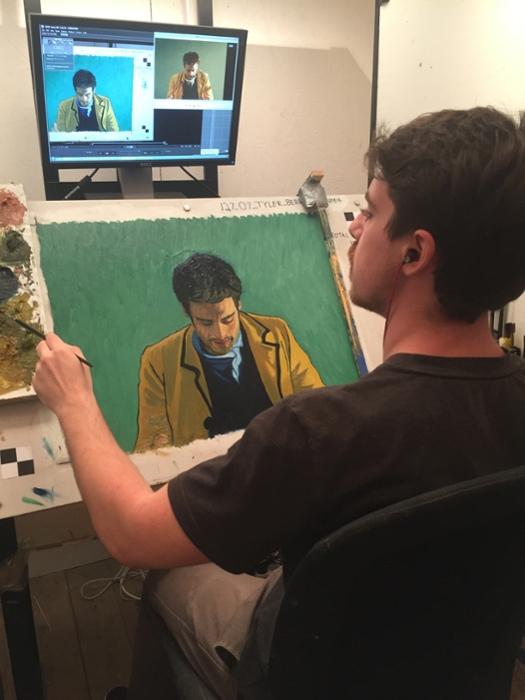 人人都《至爱梵高》:解析首部手绘油画绘制动画