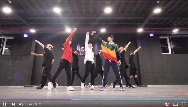 TFBOYS舞蹈练习视频公开 帅气走位零误差