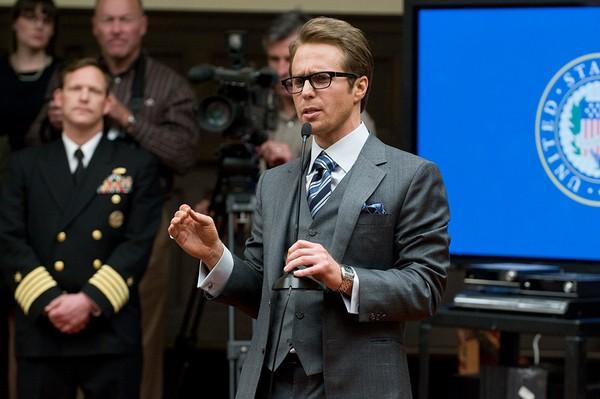 山姆・洛克威尔在《钢铁侠2》里演反派。