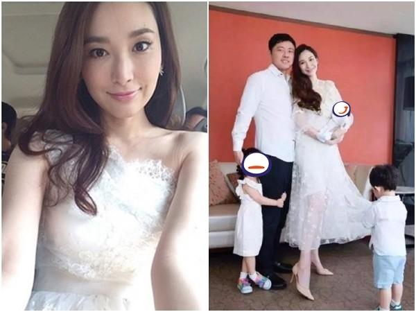 吴佩慈生下3个孩子,外界对她和男友是否已经结婚感到好奇