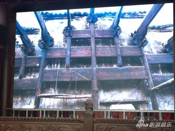 成龙将四栋徽派古民居移交蚌埠:最大有400多平