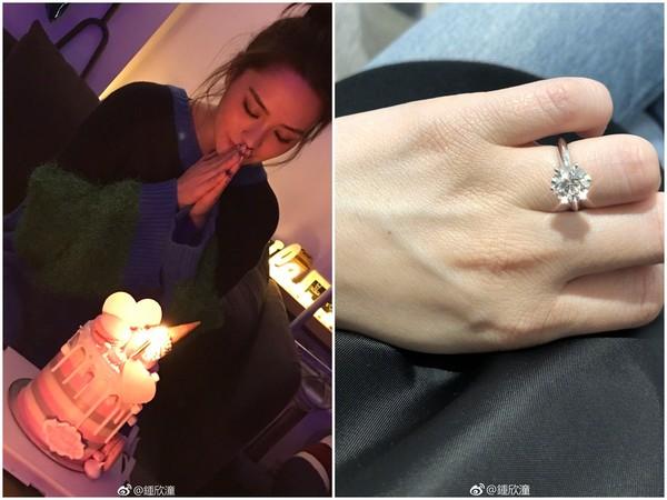 阿娇接受男友求婚