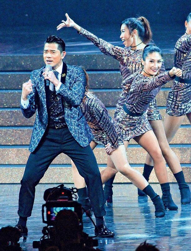 郭富城称不再出席音乐典礼:会出碟 但没时间限制