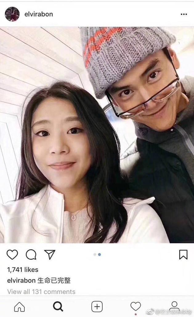 网友晒出与彭于晏的亲密合照