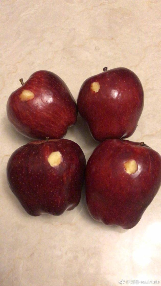 刘翔吐槽吴莎洗苹果水平:给你点赞以后别洗了