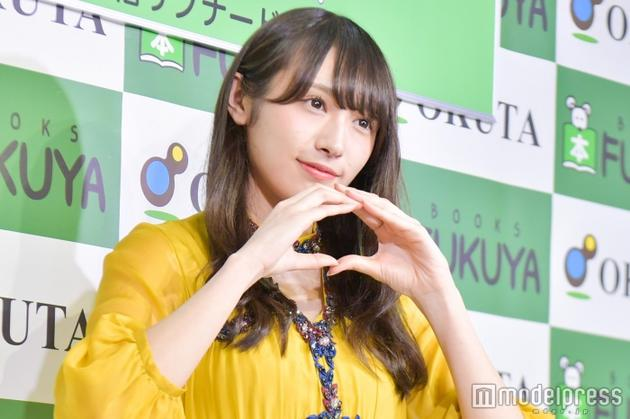 渡边梨加在发售会现场。