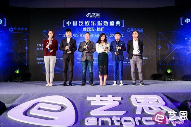 ENAwards奖项公布 吕建民获年度最佳电影制片人