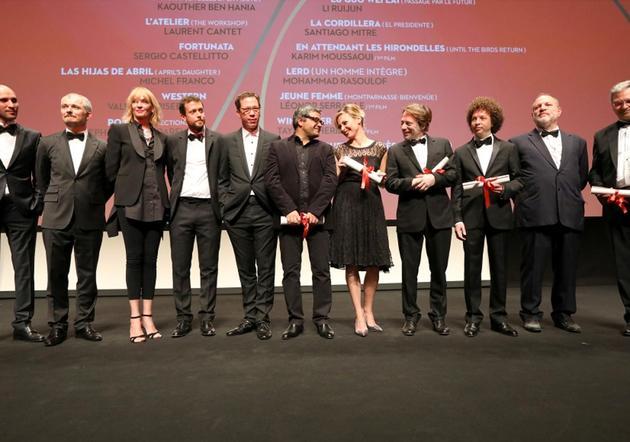 戛纳电影节颁奖典礼图片
