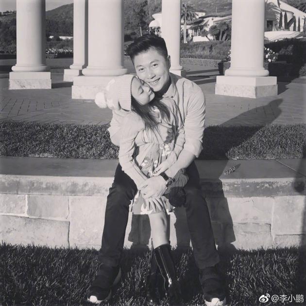 奥莉和爸爸李小鹏