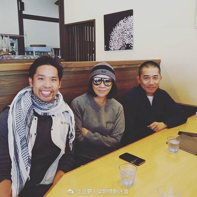 梁朝伟刘嘉玲夫妇日本度假被偶遇