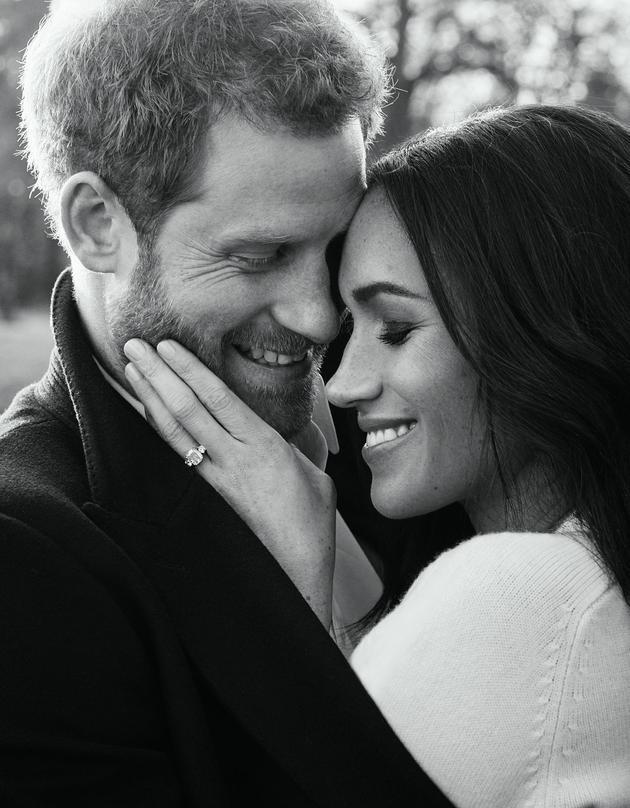 哈里王子與未婚妻互撩