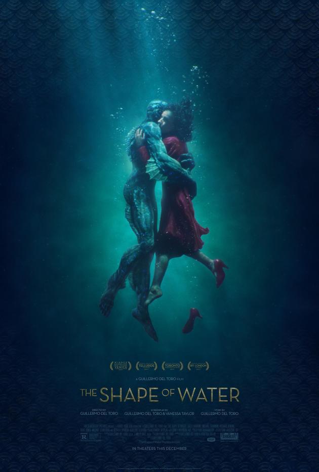 《水形物语》以最佳影片、最佳导演、最佳女主、最佳女配等13项提名领跑本届奥斯卡