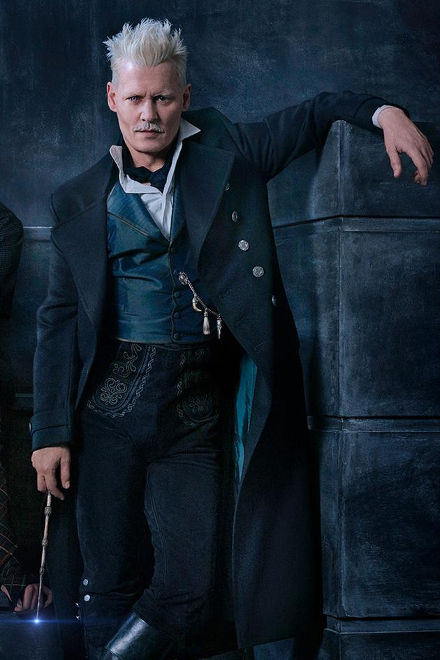约翰尼·德普在《神奇动物在哪里2》饰演格林德沃