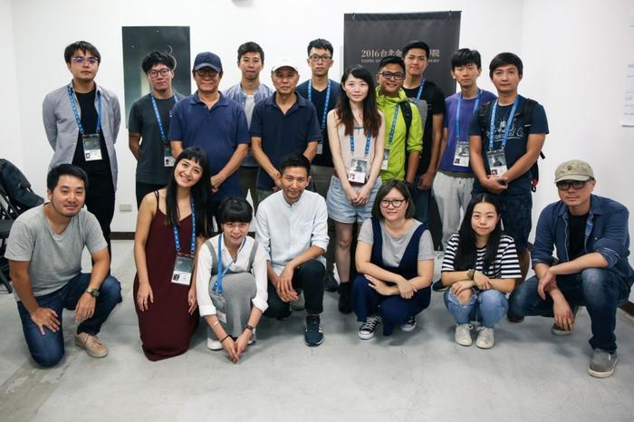 台湾金马奖第八届金马学院合影