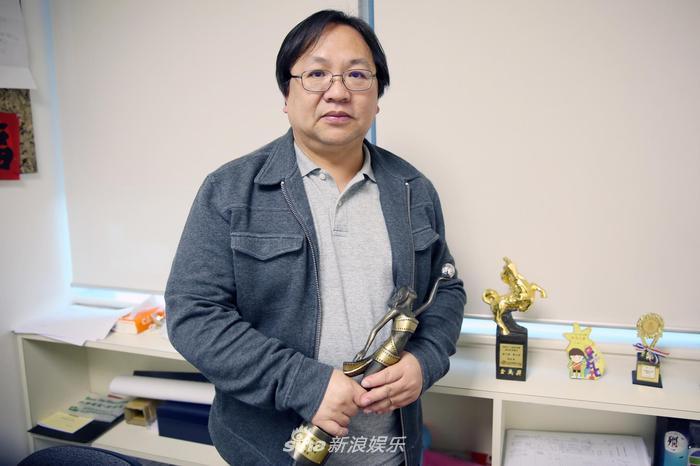 《使徒行者2》编审叶天成也是杜琪峰的御用编剧(摄影/刘嘉奇)