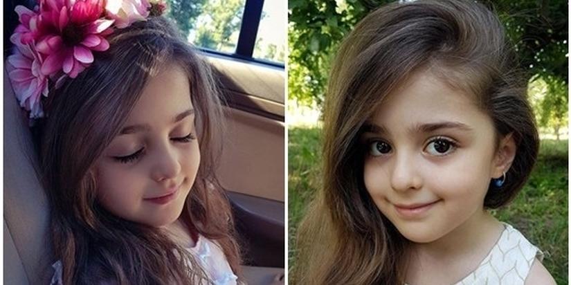 8岁成世界最美女孩 爸爸辞职做其专职保镖