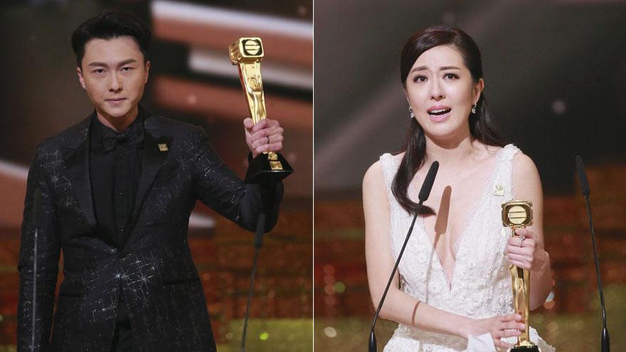 TVB50周年台庆颁奖礼 王浩信唐诗咏摘最佳男女主角桂冠
