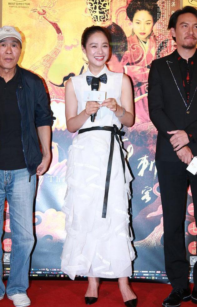 2015年08月23日《刺客聂隐娘》首映记者会