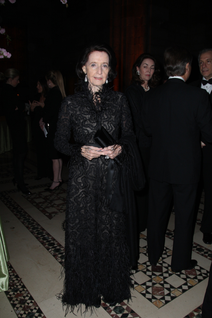 Jayne Wrightsman attends the Annual American Academy in Rome Awards Dinner at Cipriani 42nd Street in 2008.