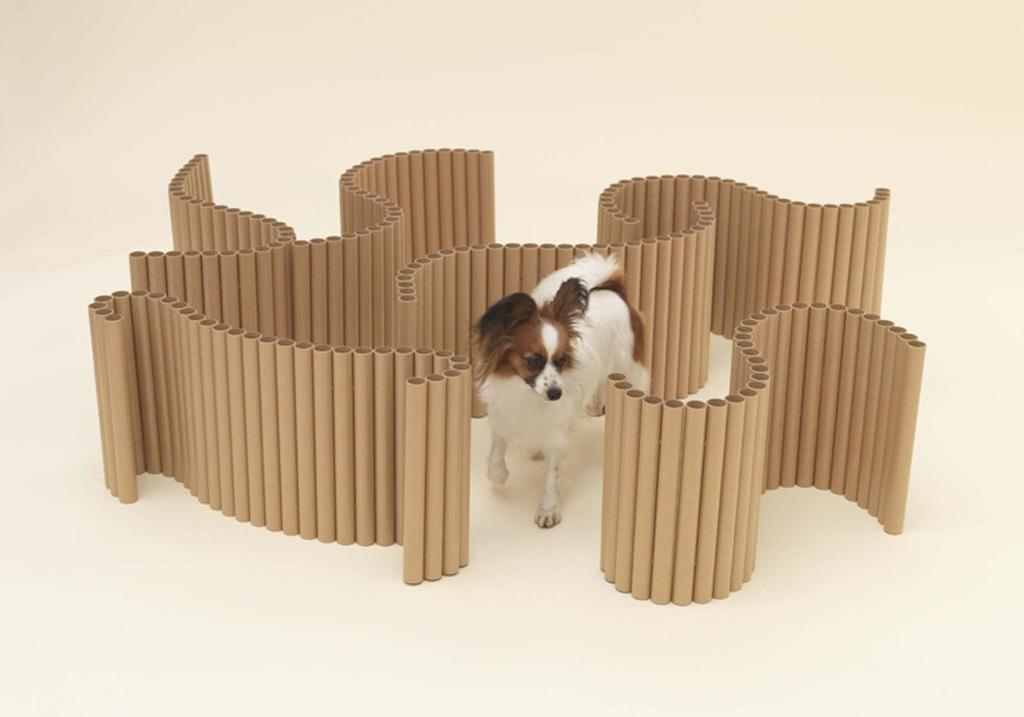 由日本无印良品的设计师原研哉先生发起 联合多名设计师为宠物设计家具