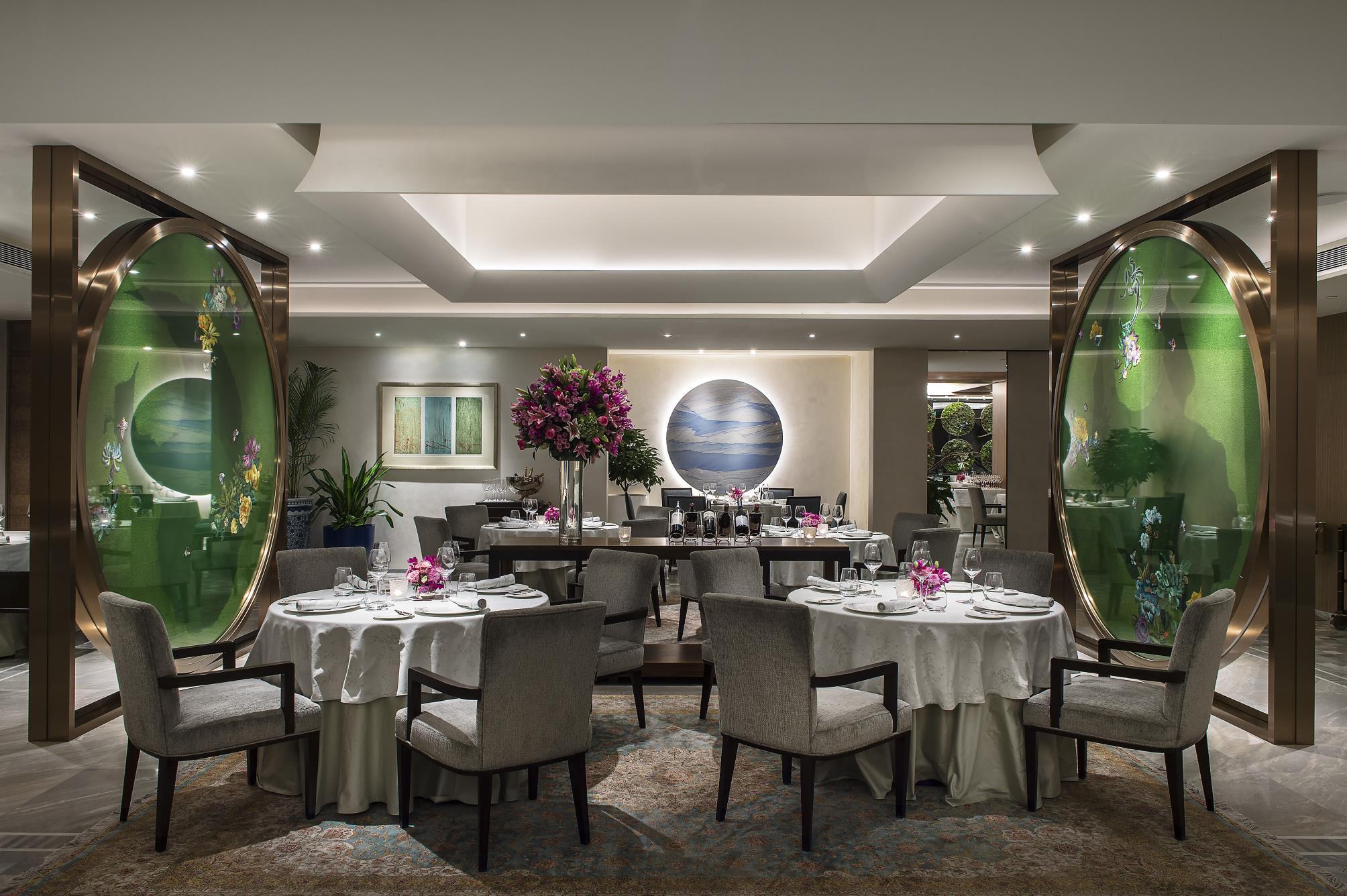 王府半岛酒店Jing餐厅荣摘2021北京米其林一星