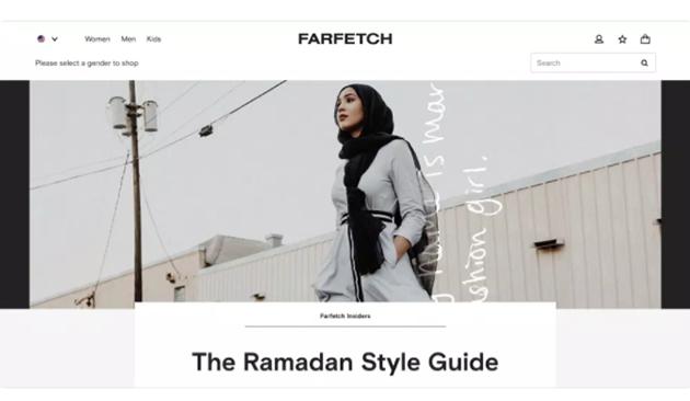 Farfetch将推出个性化虚拟试衣间