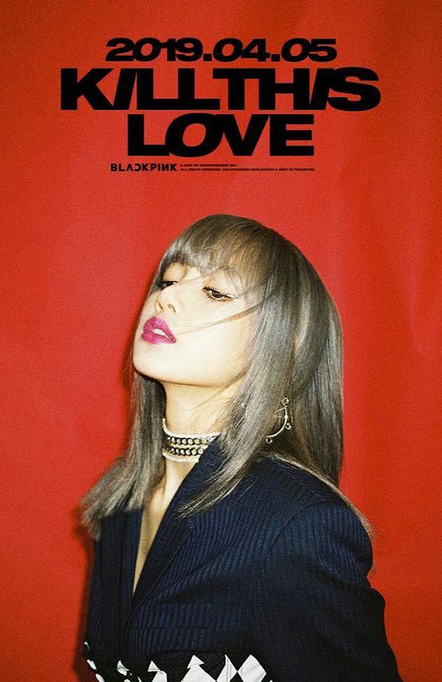 BLACKPINK新专辑Lisa预告海报