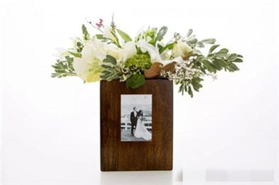 DIY木质花瓶
