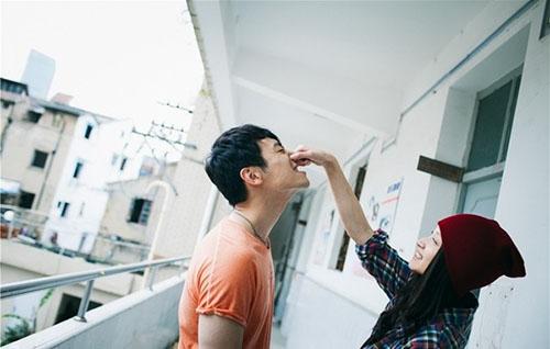 【婚嫁】朱亚文与妻子沈佳妮的结婚照如此甜蜜