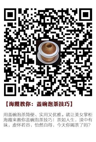 海霞教你盖碗泡茶