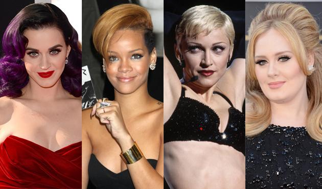 四位女歌手