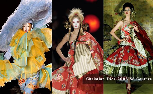 Dior2003春夏高级订制