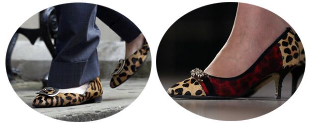 梅姨的豹纹鞋
