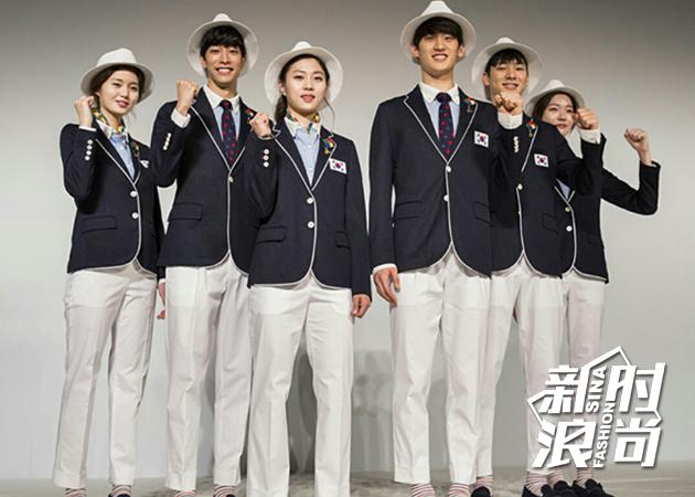 韩国队设计来自:-Beanpole