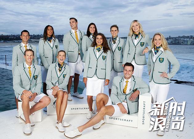 澳大利亚代表团:Sportscraft