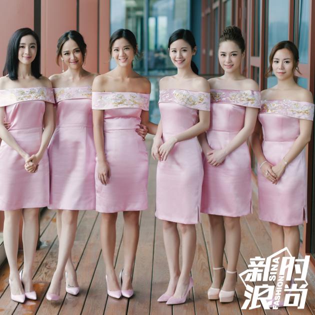 陈妍希的最美伴娘团