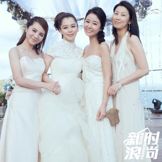 徐若瑄和伴娘团
