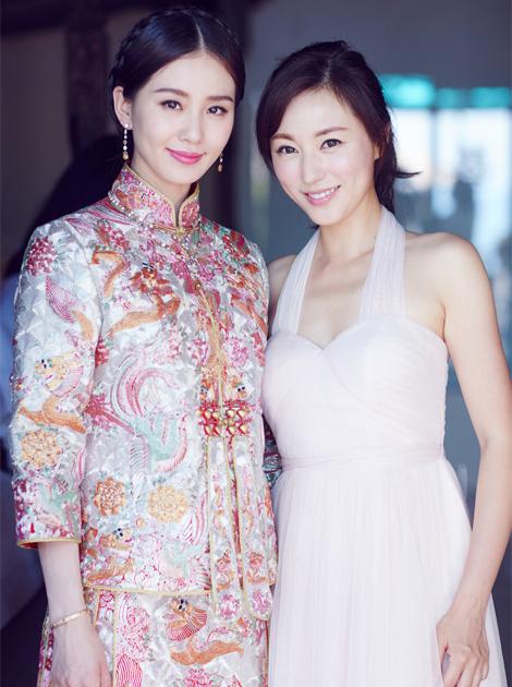 刘诗诗和伴娘