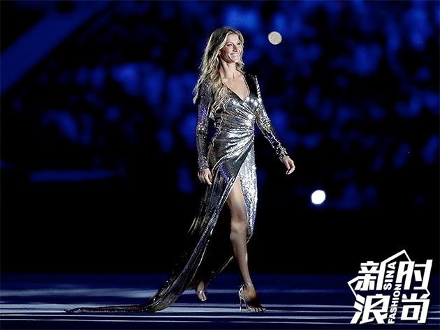 里约奥运开幕式上的吉赛尔